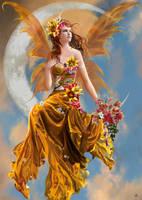 Golden Fairy by gayatri23119