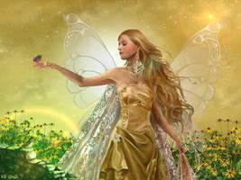 Golden Fairy II by gayatri23119