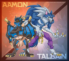 Aamon and Talbain by ElectricDawgy