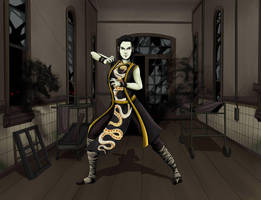Queen Snake - Mutants and Masterminds 3rd Edition by Thrythlind