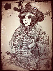 Red Pirate, or Highway-woman. by jack8642
