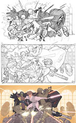 Star Wars RPG Art, Larger by AdamHughes