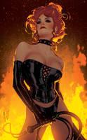 The Black Queen by AdamHughes