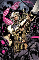 Wonder Woman 173 cover by AdamHughes