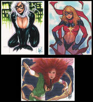 Women of Marvel by AdamHughes