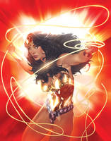 Wonder Woman Encyclopedia by AdamHughes
