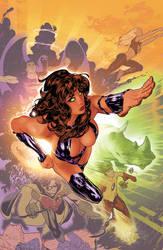 Teen Titans by AdamHughes