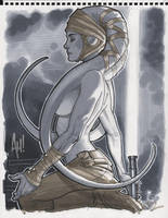 Aayla, You Got Me On My Knees by AdamHughes
