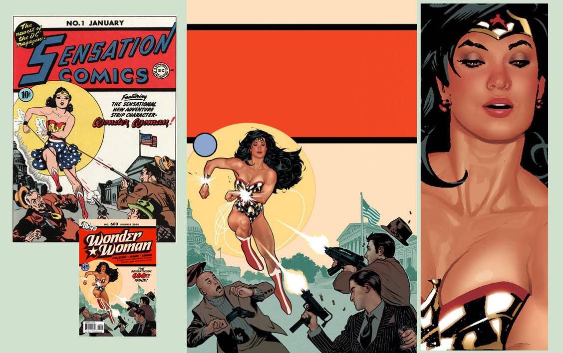 Wonder Woman 600 by AdamHughes