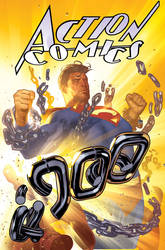 Action Comics 900 by AdamHughes
