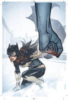 BATGIRL Cover 5 by AdamHughes