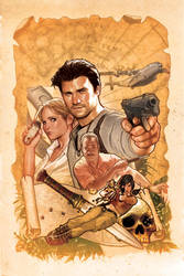 UNCHARTED Variant Cover 1 by AdamHughes