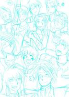Elite Guard sketch by Temarigirl1600