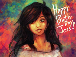 Jessica's/Aphmau's Birthday by Prizza-Slvt