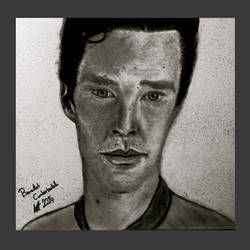 Benedict Cumberbatch by Annzig