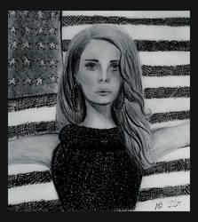 Lana Del Rey by Annzig