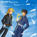 20000 kiriban _ for Sukiro by Lina01