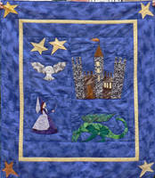 St Mungo's Baby Quilt by magpie-poet