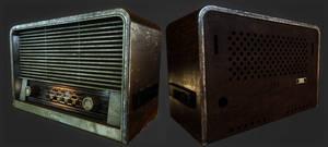 Old radio by llMarcos