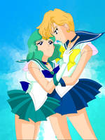 136 - Outer Sailor Couple by Silverlegends
