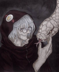 The Serpent by AdriaMarina