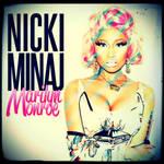 Nicki Minaj - Marilyn Monroe CD Cover by GaGanthony