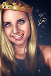 Portrait by Adxnna