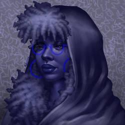 Blue by Adxnna