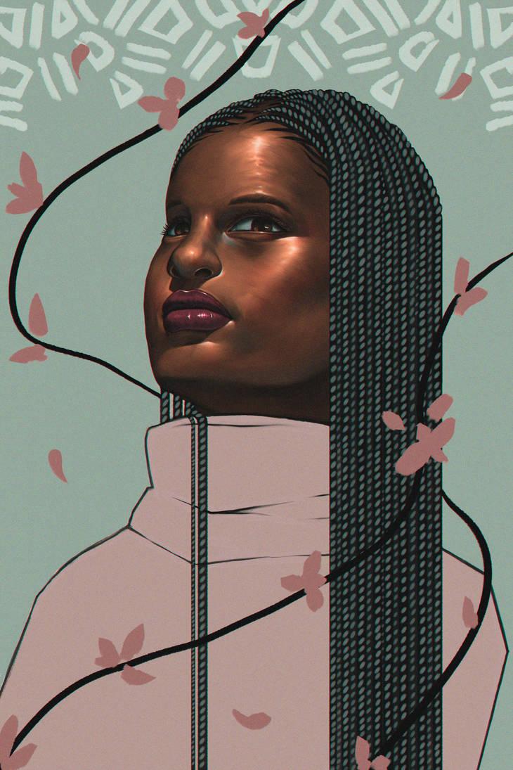Pink - Braid Series by Adxnna