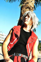 Riku - Watching the skys by Zack-Fair-7