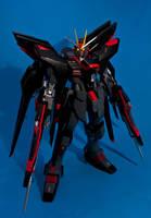 PG 1/60 ZGMF-X20A Strike Freedom Gundam WIP. by aryss-skahara