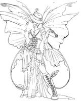 Line art for Dooberrie by ShyniMoonStar