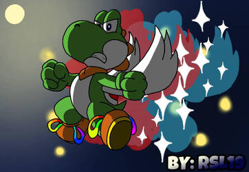 Ultimate Transformation... Super Dragon Greeny by Greeny-Yoshi-RSL19