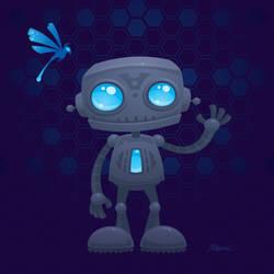 Waving Robot by fizzgig