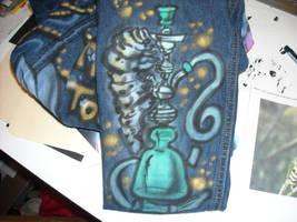 Alice in Wonderland Sleeve 1 by BankyOne