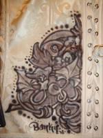 Corset Flower Back by BankyOne