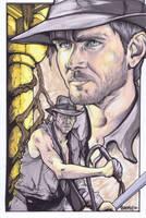 Indiana Jones by BankyOne