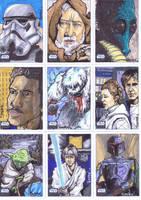 Star Wars Galaxy 6: Series 4 by BankyOne