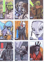 Star Wars Galaxy 6: Series 6 by BankyOne