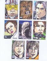 Star Wars Galaxy 6: Series 14 by BankyOne