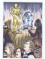 Star Wars Galaxy 6: Series 15 by BankyOne
