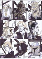 Star Wars Galaxy 7-9 by BankyOne