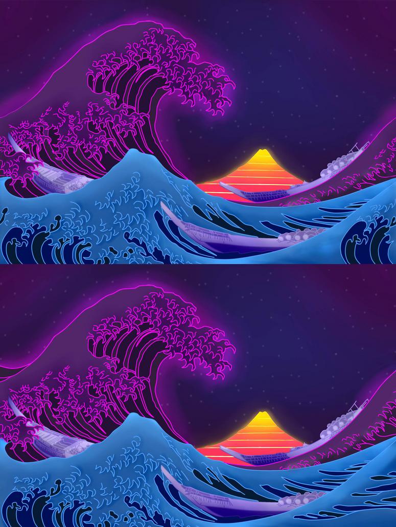 Neon Ocean by mikemartin1200