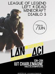 Affiche Lan ACI by Cyberplix