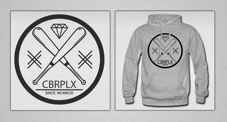 Sweatshirt CBRPLX Baseball by Cyberplix