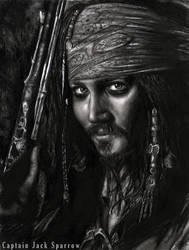 Captain Jack Sparrow by jessie145