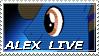 Alex Live Stamp by NovellaMLP