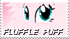 Fluffle Puff Stamp by NovellaMLP