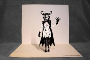 The Demon Inside - 3D Art by InlineSpeedSkater
