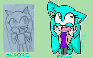 Before and After by rumythehedgehog